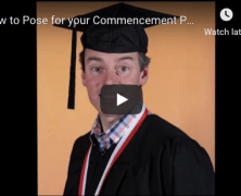 How To Achieve the Perfect Pose for your commencement photo